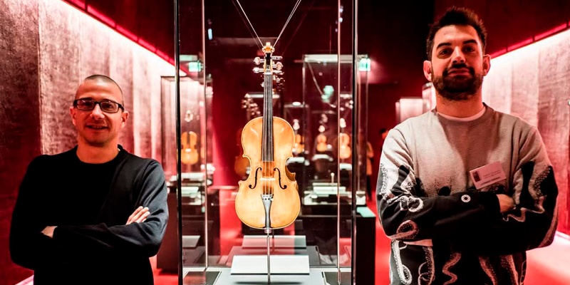Museo Violino Stradivari Vesuvio Mattia Bersani Leonardo Tedeschi